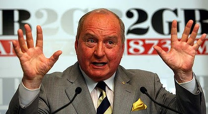 Outspoken ... Alan Jones.
