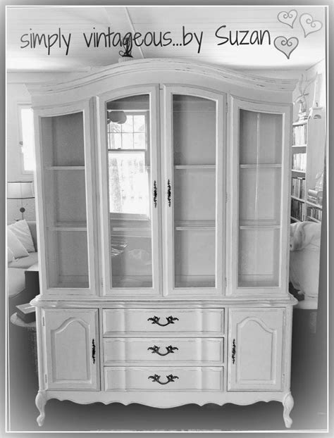 simply vintageous...by Suzan: Hutch Makeover - before and