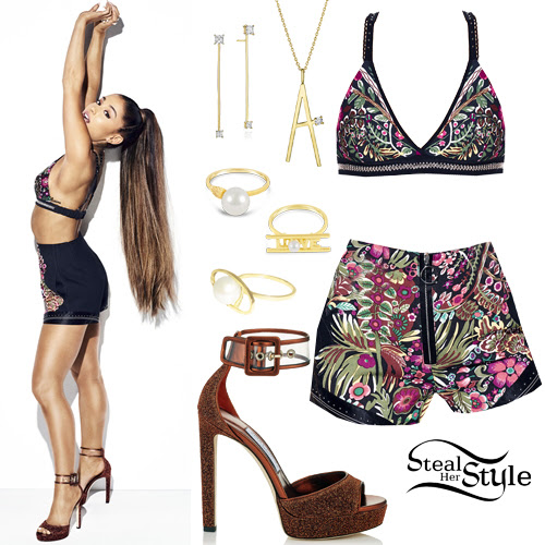 ariana grande cosmopolitan magazine outfits  steal her style