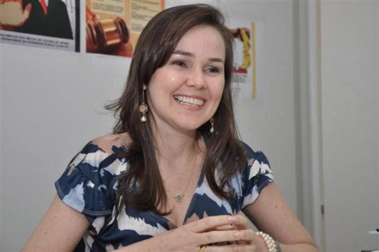 A promotora Izabel Pinheiro é a coordenadora do Centro de Apoio Operacional de Defesa do Patrimônio Público