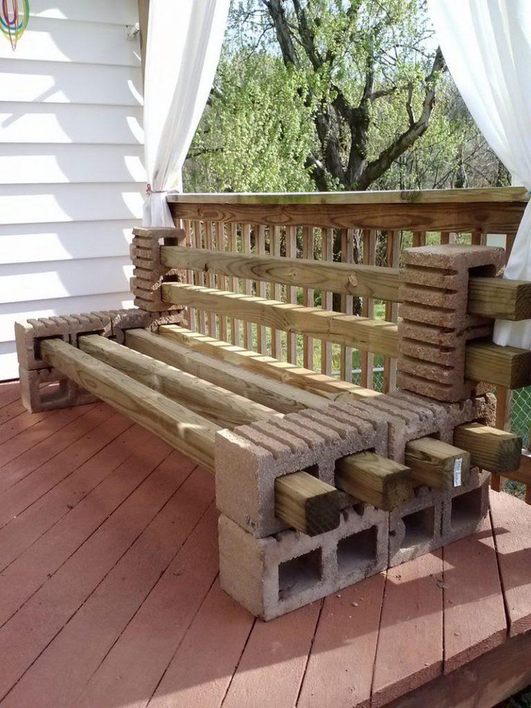 كراسي خشب كراسي حدائق واستراحات فكرة لإعادة تدوير
