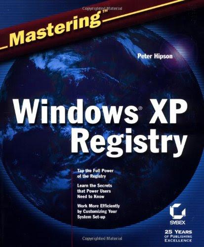 Windows XP registry backup