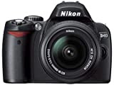 Nikon デジタル一眼レフカメラ D40 レンズキット ブラック D40BLK