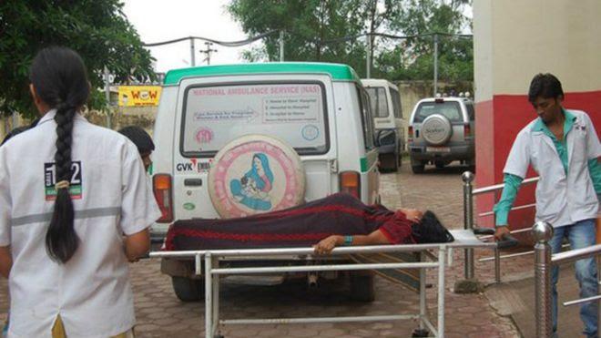 Pacientes em Bilaspur