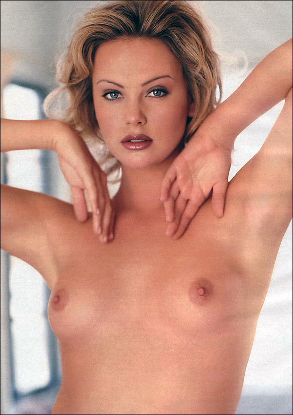 charlize theron playboy