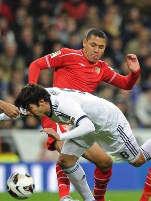 Kaka foi um dos destaques do Real Madrid contra o Sevilla pelo Espanhol Foto: AFP