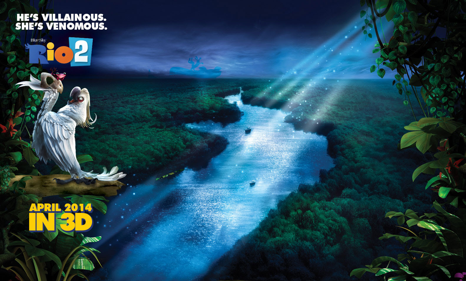 Free HD Rio 2 Movie Wallpapers  Desktop Backgrounds 2014