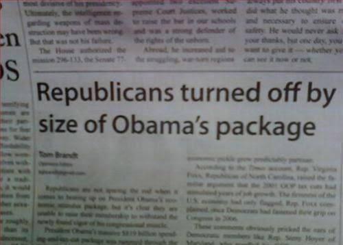 Huge package
