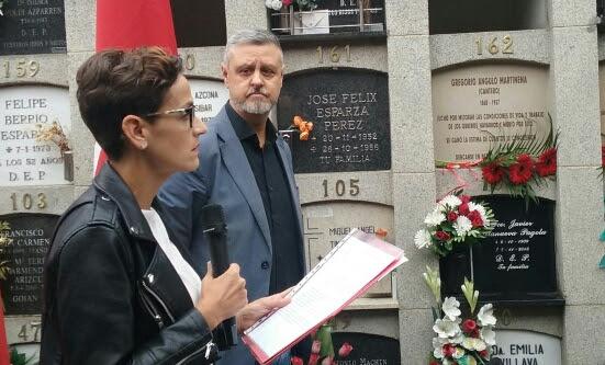 El PSN-PSOE repudia cualquier utilización partidista e interesada de los lugares de Memoria Histórica