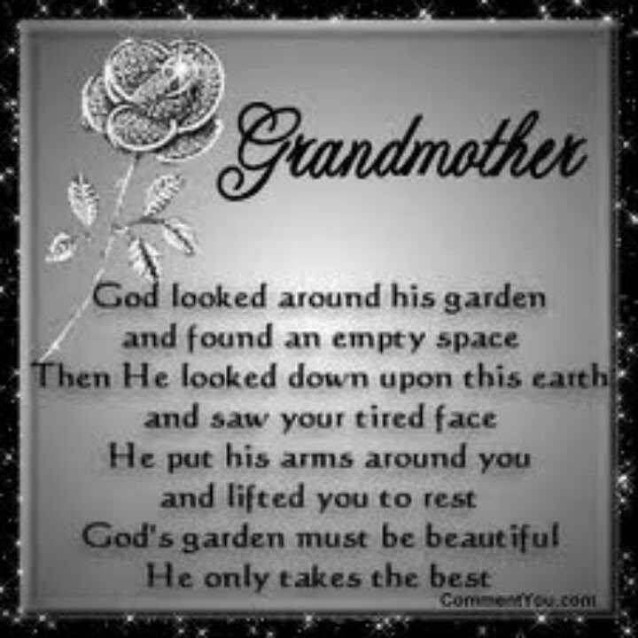 Quotes About Losing My Grandmother 16 Quotes