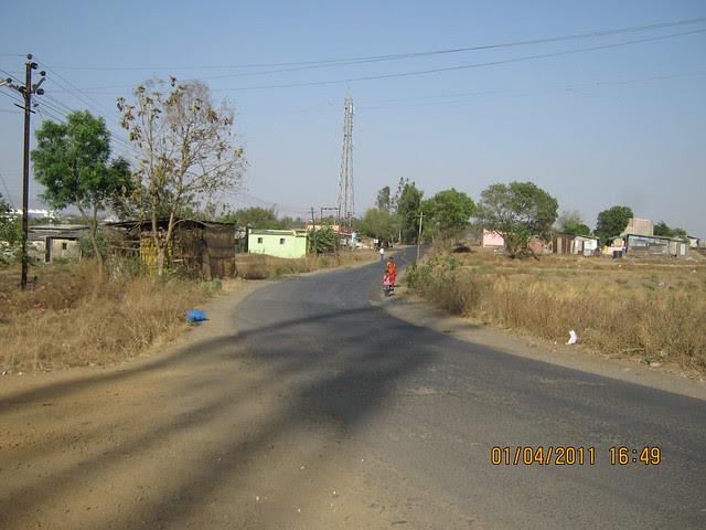 Walking Kanhe Railway Station to Dajikaka Gadgil Developers' Anant Srishti