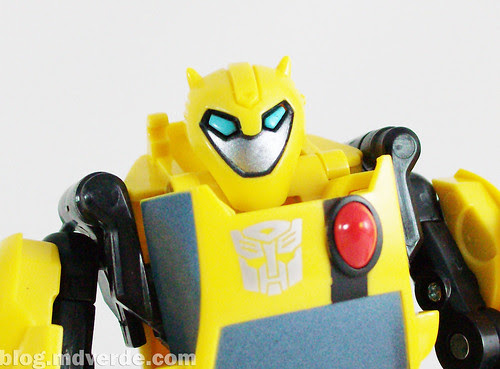 Transformers Bumblebee Animated Activator - modo robot
