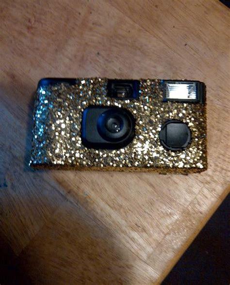 Glittered Disposable Cameras   Weddingbee Photo Gallery