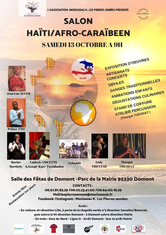 Salon Haiti Afro Caribeen Saksoti