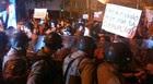Goiânia: grupo tentou invadir Assembleia (Gabriela Lima / G1)