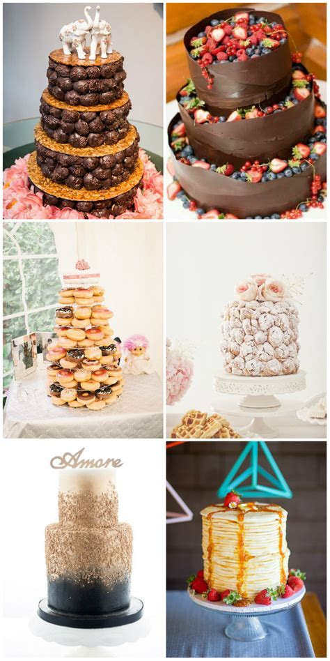 Top 22 Nontraditional Wedding Cake Ideas