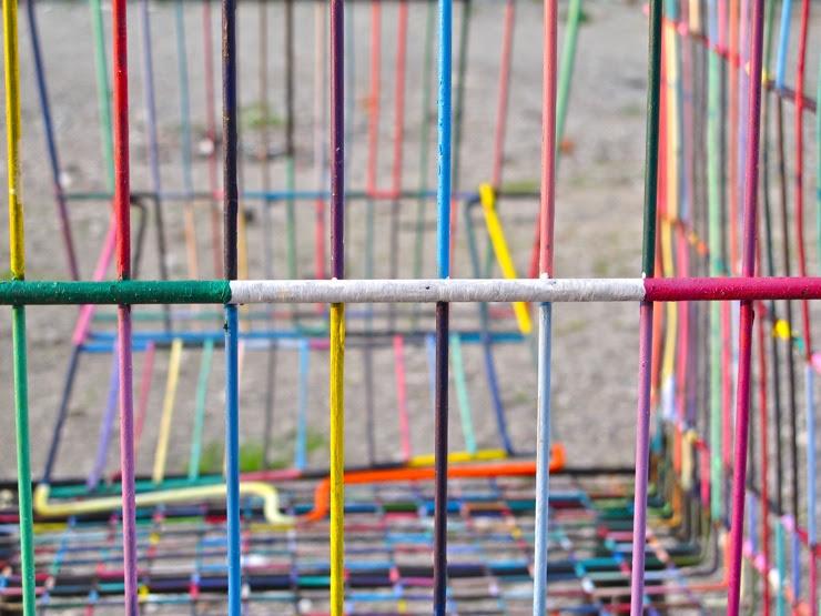 Rainbow shopping cart