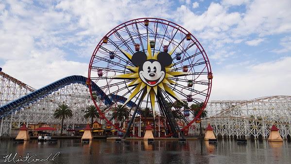 Disneyland Resort, Disney California Adventure, Paradise Pier, Mickey's Fun Wheel
