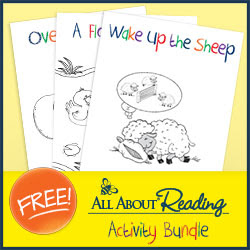 All About Reading Activity Bundle