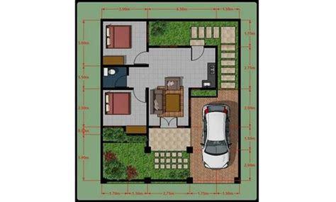 desain interior rumah luas tanah 60