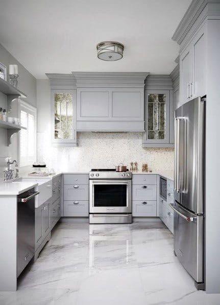 Top 60 Best Kitchen Flooring Ideas - Cooking Space Floors