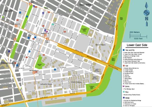Manhattan Lower East Side Davishunter Com