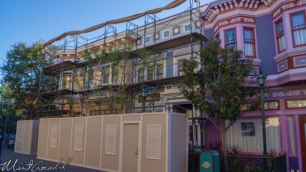Disneyland Resort, Disney California Adventure, San Francisco, Refurbishment, Refurb, Refurbish, Facade