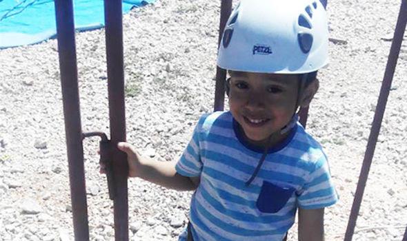 Ο 4χρονος Ροντρίγκο, το πρώτο αναγνωρισμένο θύμα της φωτιάς - Φωτογραφία: Facebook / Express