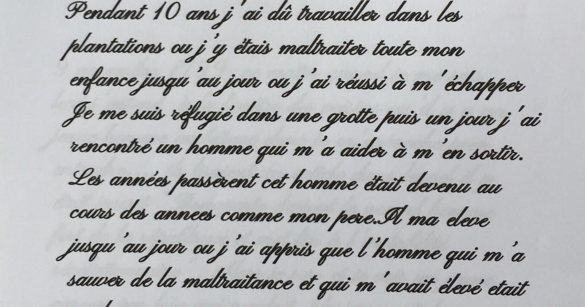 Exemple De La Premiere Page Dun Journal Intime - Exemple ...