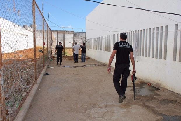 Penitenciária Agrícola Dr. Mário Negócio, em Mossoró (Foto: Marcelino Neto/O Câmera)