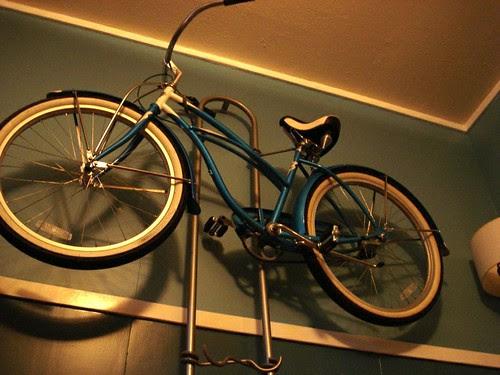 Bike decor: Emily & Kenneth Berg, Shreveport by trudeau