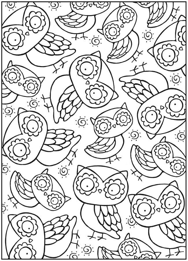 Coloring And Drawing: Cute Printable Coloring Pages For Adults