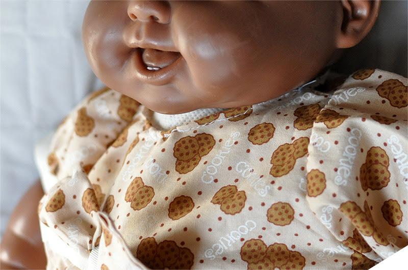 boneca bebê restaurada