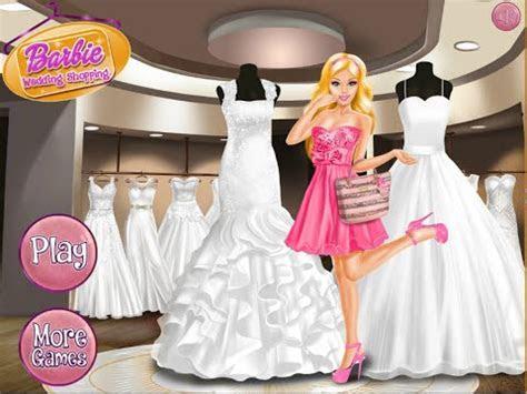 Barbie Wedding Shopping Games   YouTube