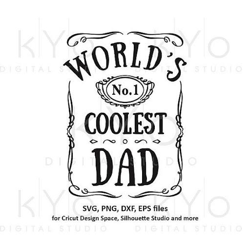 Fathers Day Jack Daniels Svg