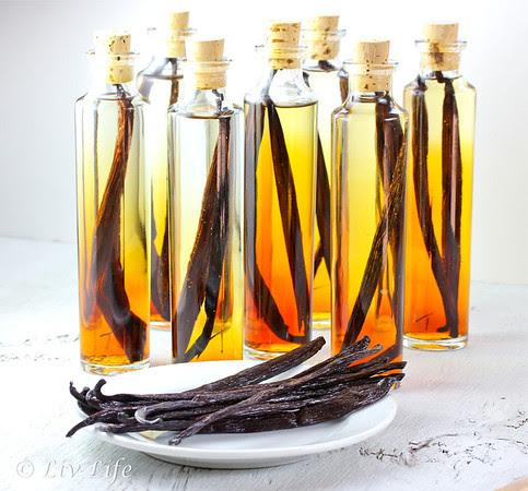 Homemade Vanilla Extract, Vanilla Bean, Holiday gift