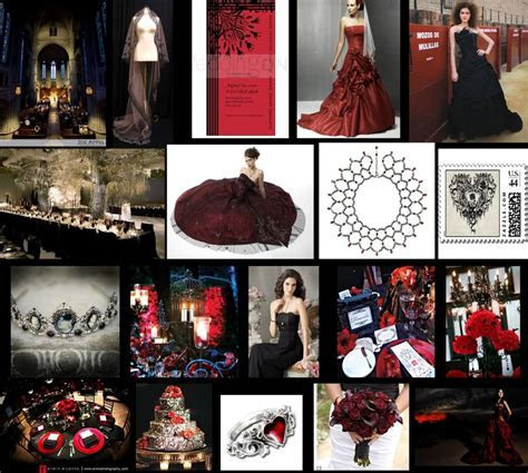 Prepare Wedding Dresses: Unique Wedding: Gothic Wedding Ideas