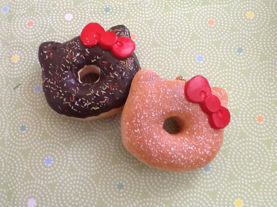 Donuts Images Hello Kitty Donuts Hd Wallpaper And Background