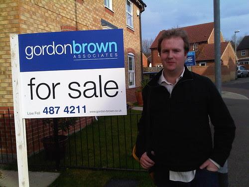 Neil Bradbury Gordon Brown for sale Oct 09