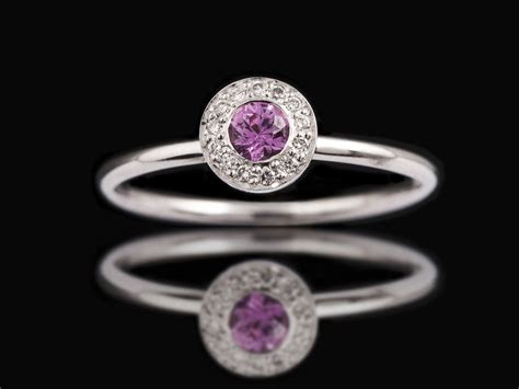Multi coloured Stackable Flower Rings   Carats Jewellery