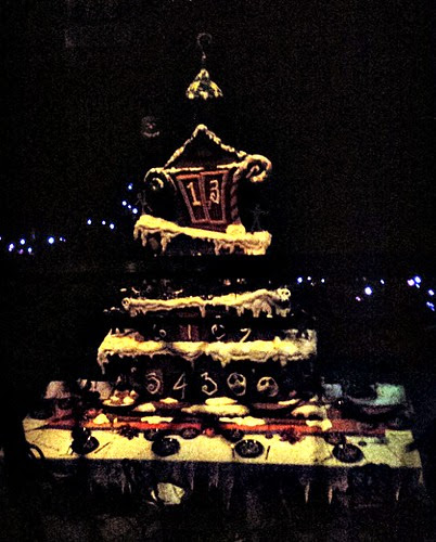 Haunted Mansion Gingerbread House 2013