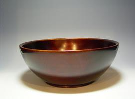漆芸作品-7寸鉢