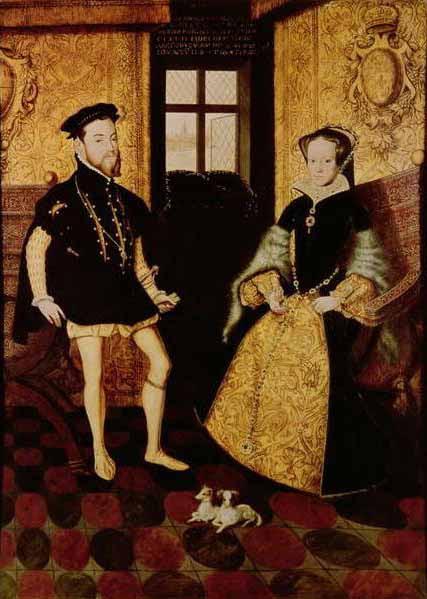 File:Felipe of Spain and MariaTudor.jpg