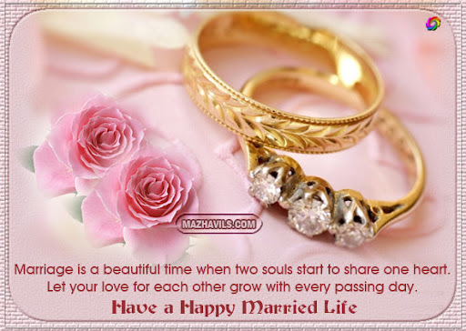 Marriage Is A Beautiful Time When Two Souls Start To Share One Heart