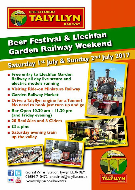 Saturday & Sunday 1st & 2nd July - Tywyn