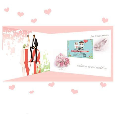 Hearty Welcome ? 7 Inch LCD Video Wedding Invitation Card
