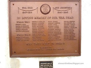 World Wars list of casualties