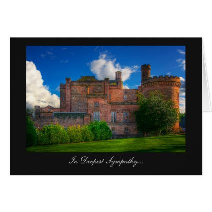Dalhousie Castle, Midlothian - In Deepest Sympathy Cards