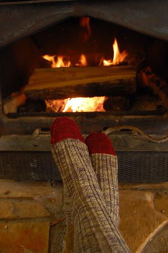Retro Rib Socks