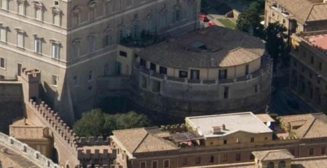 Sede en el Vaticano del Instituto para las Obras de Religión o IOR, conocido popularmente como el Banco Vaticano